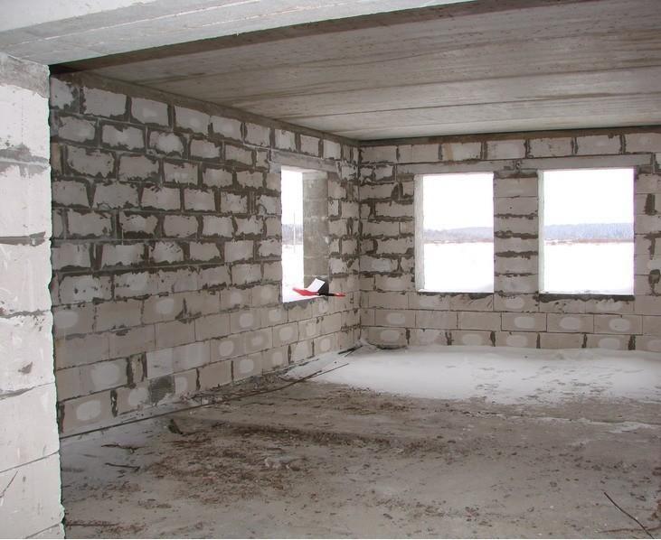 Построим из газобетонных блоков дом недорого