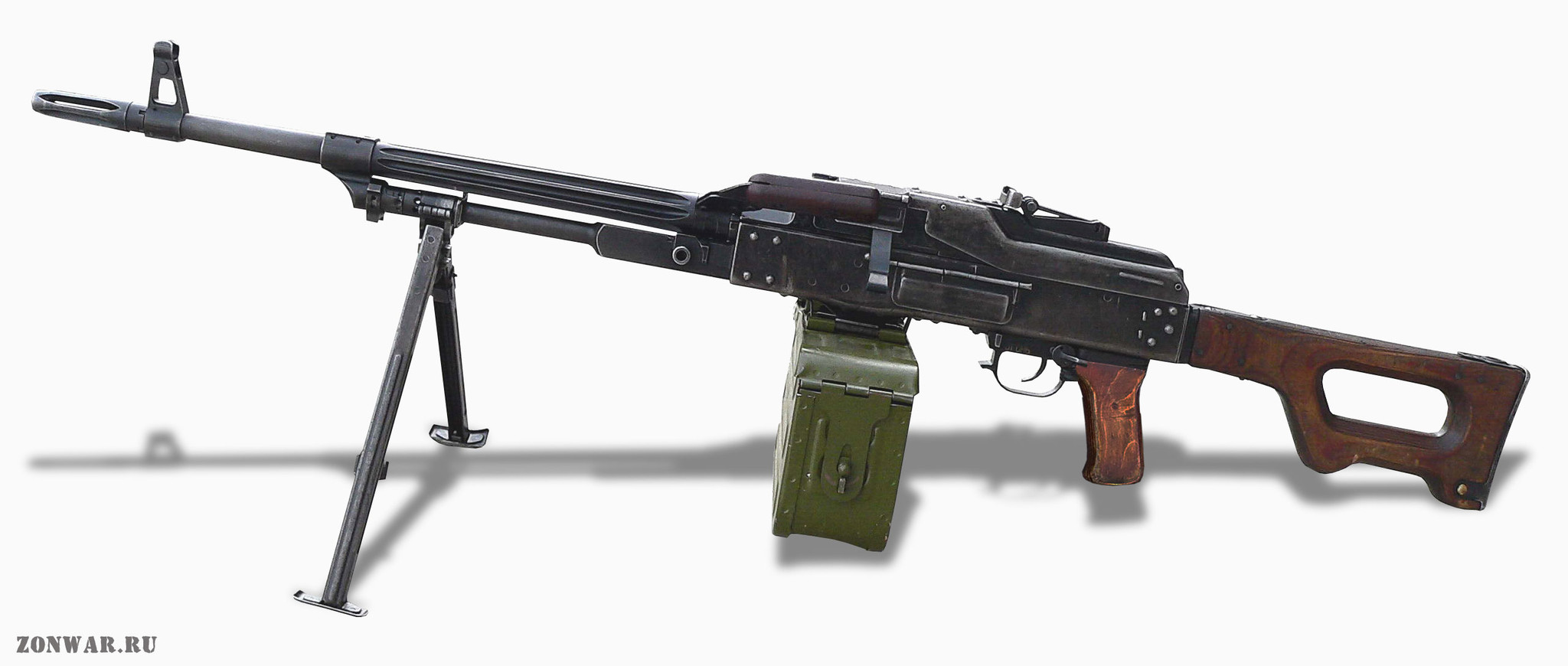 Kalashnikov machine gun: specifications and photos. Russian firearms 78