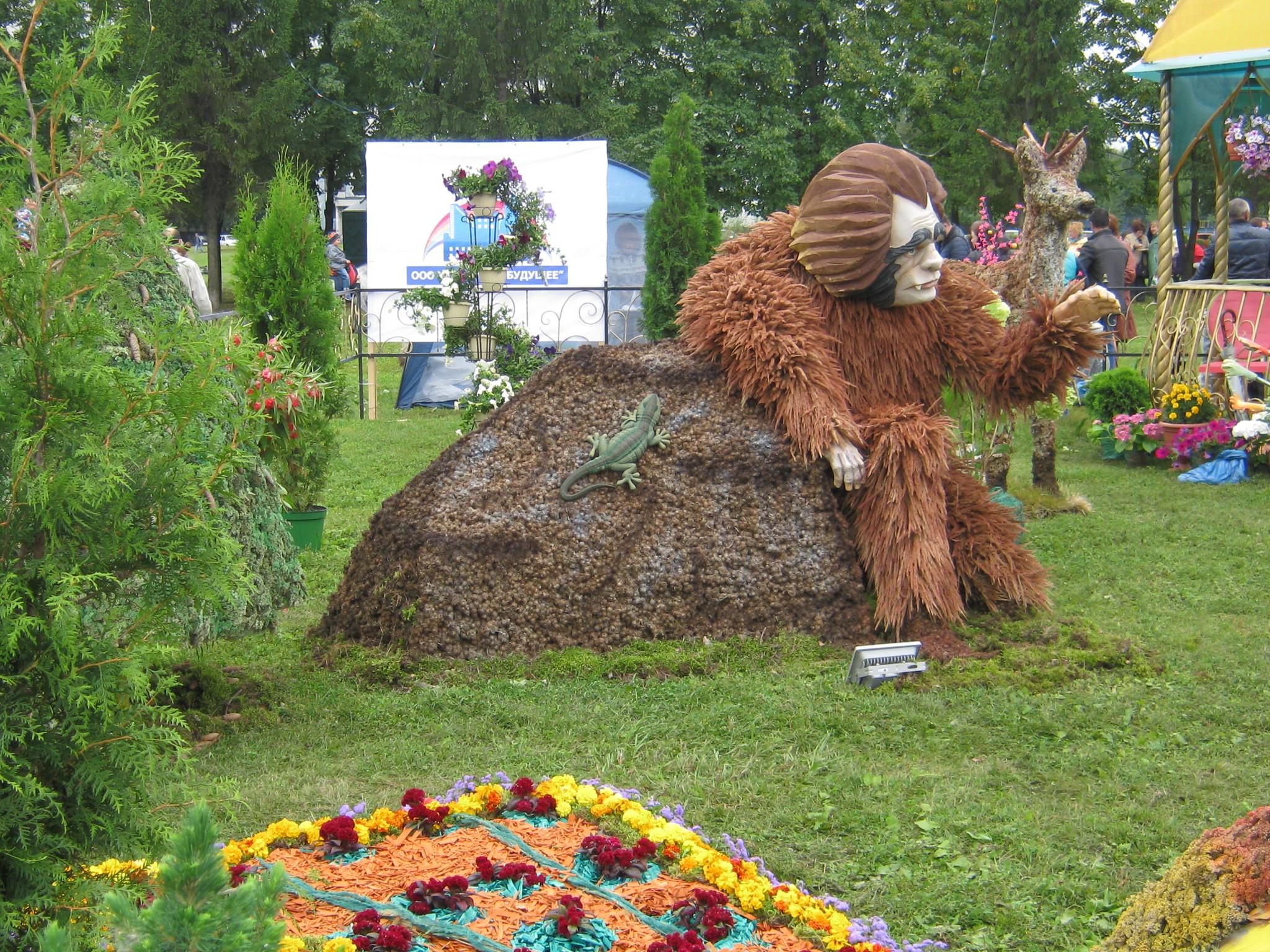 Композиции на праздник цветов фото