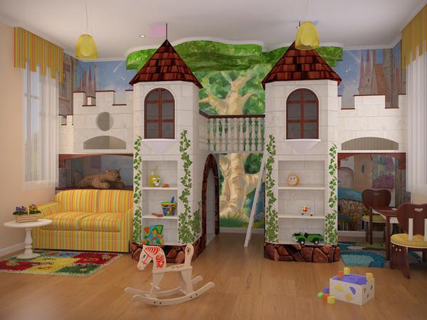 Домик для мальчика в квартире