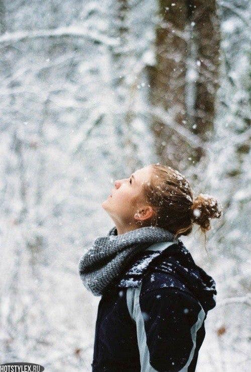 Днем учителя, картинки девушки зимой без лица