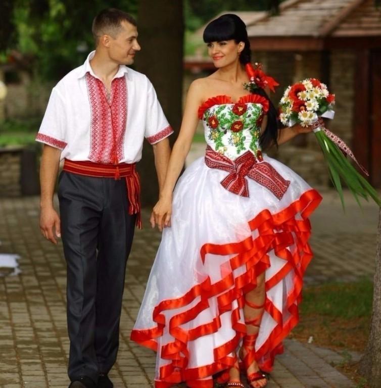 свадьба в украинском стиле фото таком