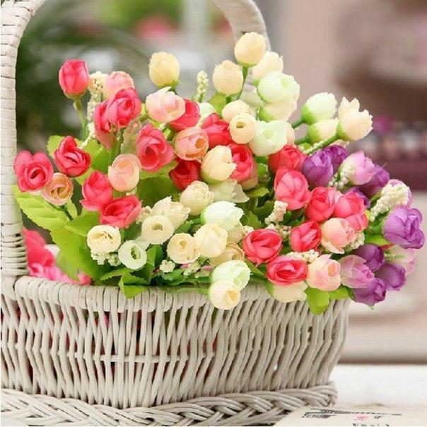 Цветочное настроение открытка, пожеланием здоровья удачи