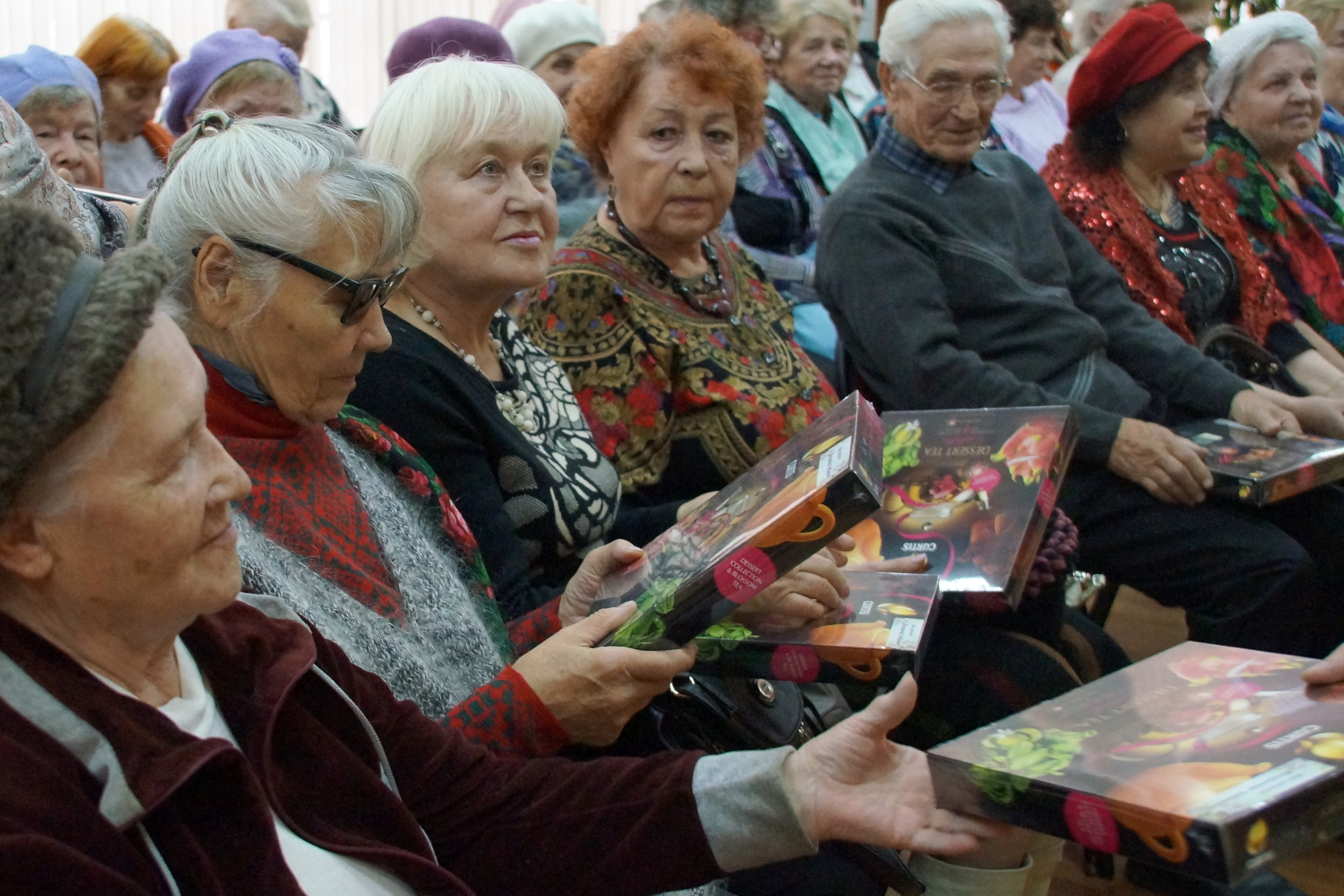 День пожилого человека в Курчатовском районе